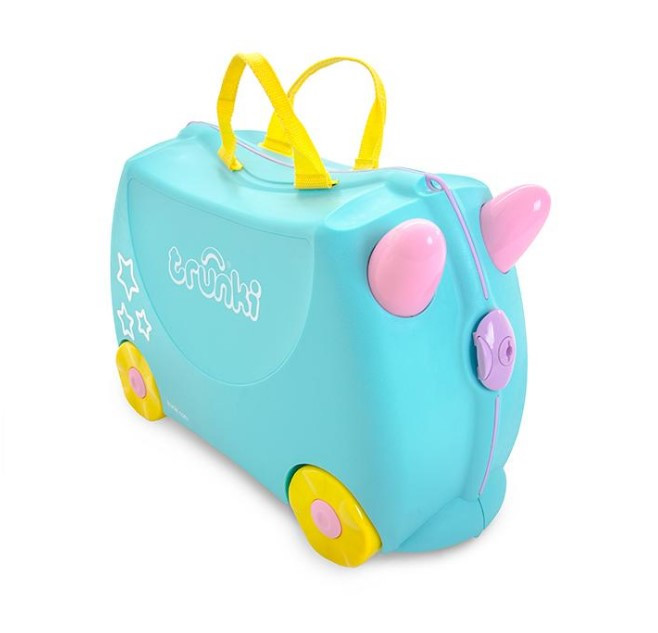 Детский чемодан Una the Unicorn Trunki оригинал