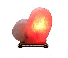 Соляной светильник Сердце маленькое