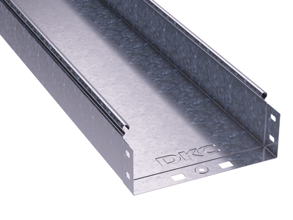200х80х3000 Короб|Лоток металевий неперфорований, ДКС, S5 Combitech [35064]