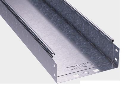 300х80х3000 Короб|Лоток металевий неперфорований, ДКС, S5 Combitech [35065]