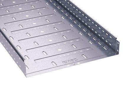 400х80х3000 Короб|Лоток металевий перфорований, ДКС, S5 Combitech [35306]