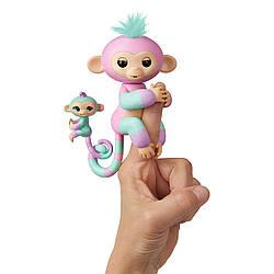 Интерактивная обезьянка Fingerlings Эшли и Шанс. Baby Monkey & Mini BFFs Ashley & Chance (3542), 5+