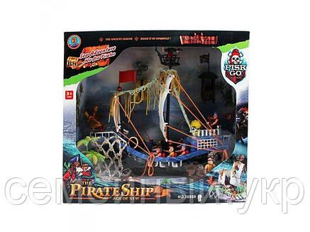 Детский конструктор «Пираты Черного моря» от Limo Toy. Материал: пластик. 50878C, фото 2