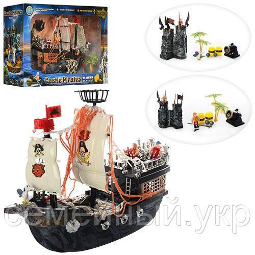 Детский конструктор «Пираты Черного моря» от Limo Toy. Материал: пластик. 50878C
