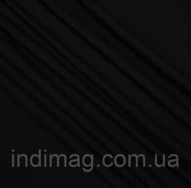 Трикотажное полотно Лакоста чёрная