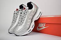 Женские кроссовки в стиле Nike Air Max 95, серебро 37 (23,5 см)