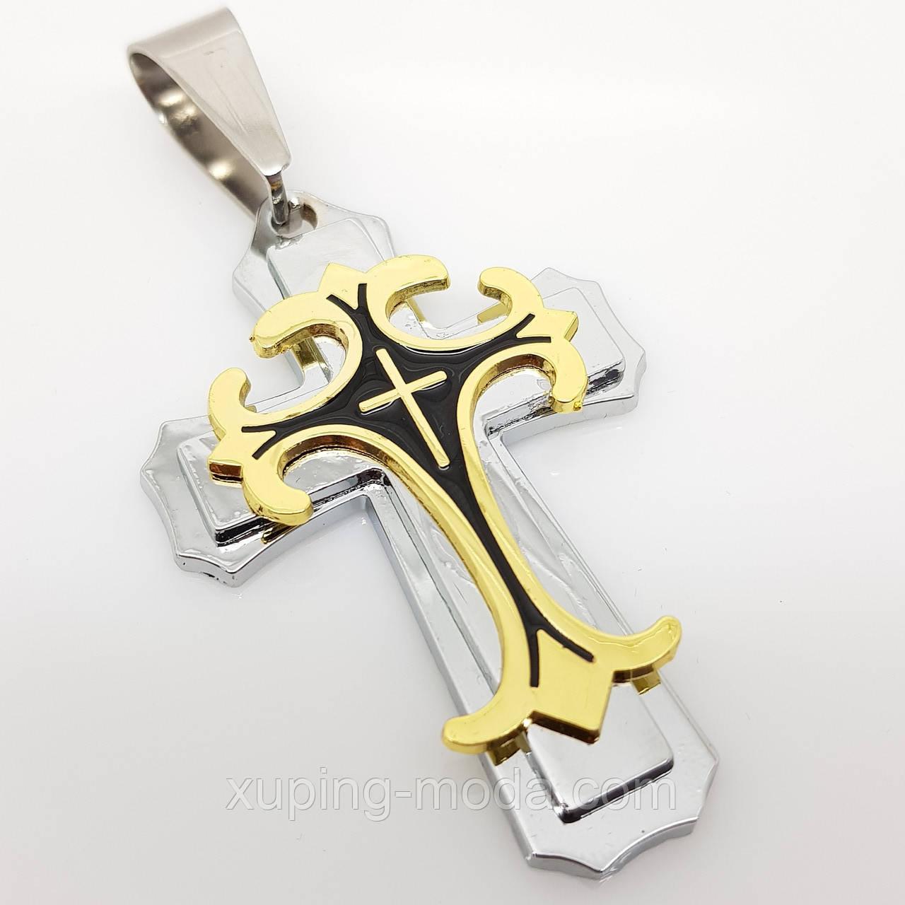 Мужской крест, большой