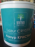 Лазурь для дерева Снитка Кристал МИНДАЛЬ, 0,8л