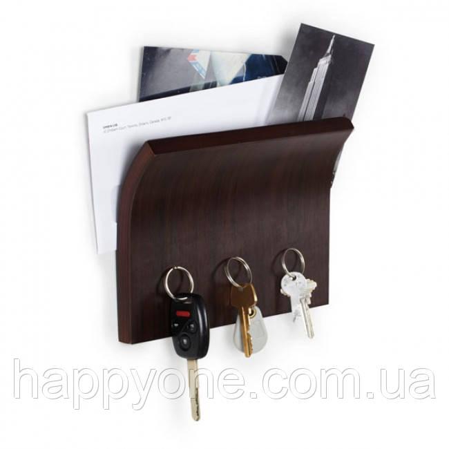Магнитный держатель для ключей и писем Magnetter Umbra