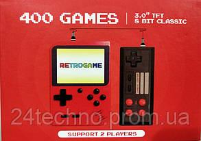 Игровая приставка 400 в 1 для двух игроков + подключение к ТВ, фото 2