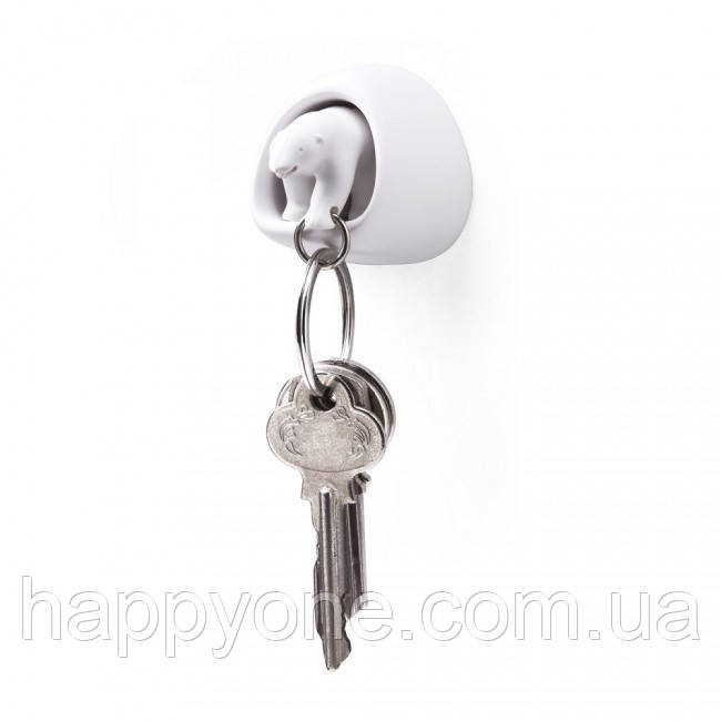 Ключница настенная и брелок для ключей Polar Bear Qualy