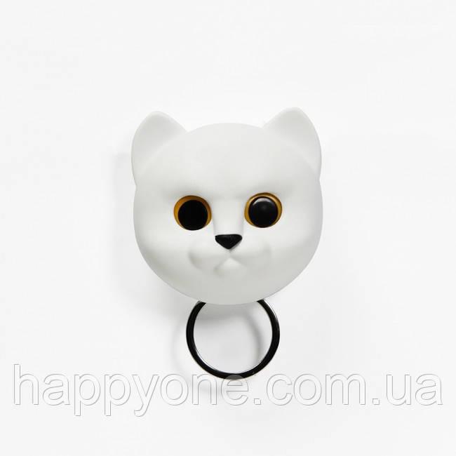Ключница настенная Neko Cat Qualy (белая)