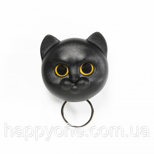 Ключница настенная Neko Cat Qualy (черная)