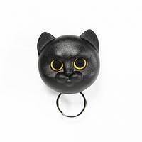 Ключница настенная Neko Cat Qualy (черная), фото 1