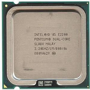"""Процессор Intel Pentium Dual-Core E2200 Б\У """"Over-Stock"""""""