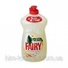 Средство для  мытья посуды  Fairy (Фэри) Нежные руки, Ромашка  500 мл
