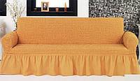 Натяжной чехол - нарядная одежда для дивана, фото 1