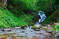 Водопад Шипот - настоящее чудо Закарпатья