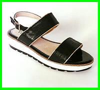 Женские Сандалии Босоножки Летняя Обувь на Танкетке Платформа (размеры: 36,37,38,39,40,41) ( 77177 )