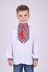 Вышиванка для мальчика с длинным рукавом на рост 110-152