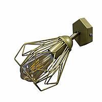 Бра в стиле лофт NL 538-1 G  MSK Electric