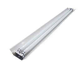 Світильник відкритий під дві led лампи 120см СПВ 02-1200 компакт MSK Electric