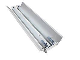 Светильник открытый под две led лампы 120см Т8 СПВ 02-1200 стандарт MSK Electric