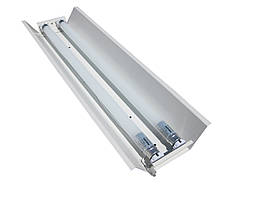 Світильник відкритий під дві led лампи 120см Т8 СПВ 02-1200 стандарт MSK Electric