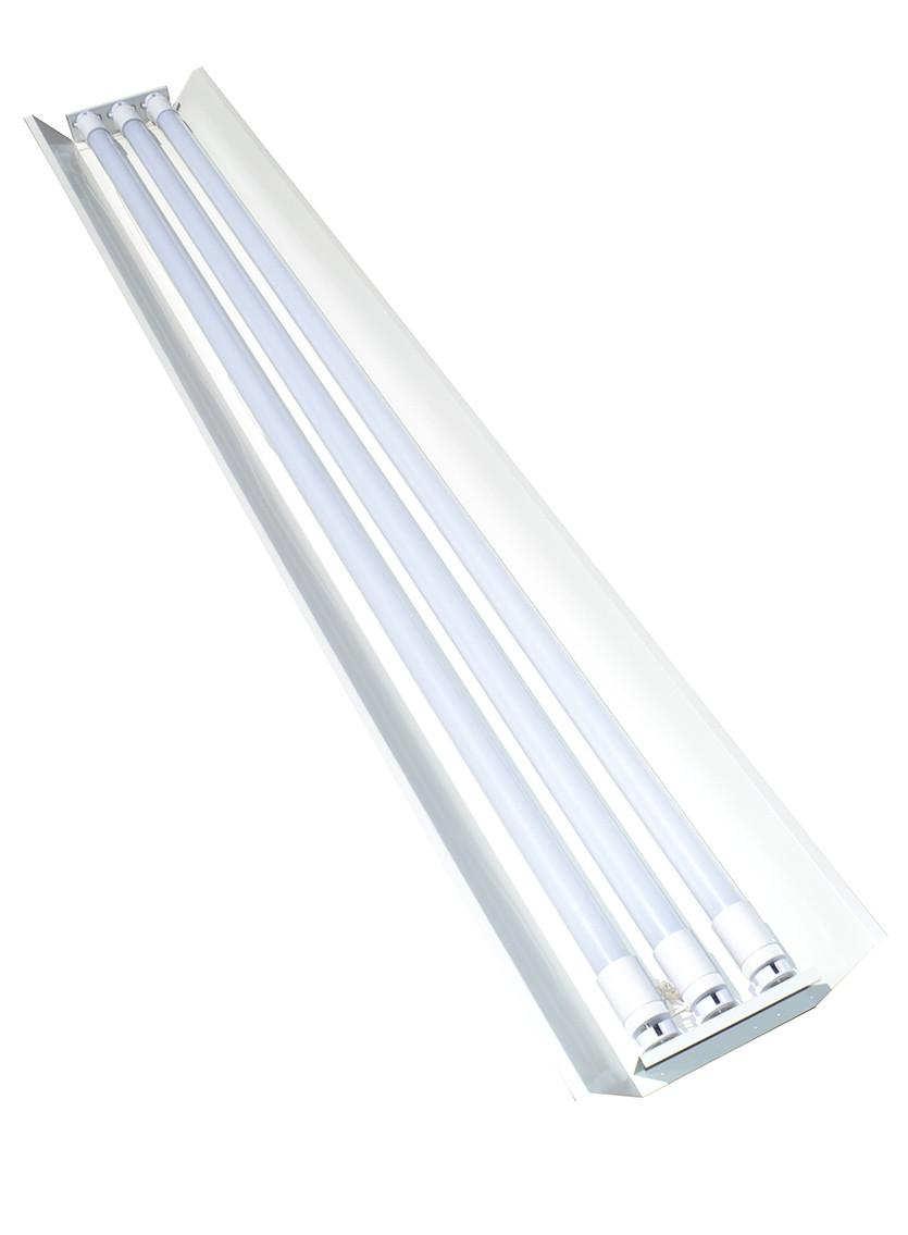 Світильник відкритий 120см під три led лампи T8 СПВ 03-1200 MSK Electric