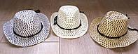 Детская ковбойская летняя шляпа