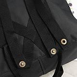 Стильный рюкзак сумка Fjallraven Kanken Classic канкен класик с отделением для ноутбука Черный + подарок, фото 8