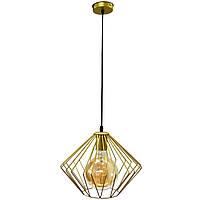 Светильник подвесной в стиле лофт MSK Electric Rhombus NL 3023 G