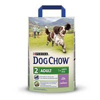 Сухой корм для собак Dog Chow Adult Lamb с ягненком