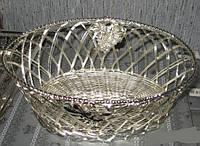 Корзина для фруктов Lessner Silver Collection 99128
