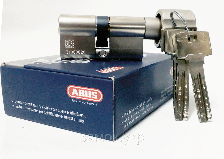 Цилиндр замка Abus Bravus 3000 Compact ключ/тумблер (Германия)