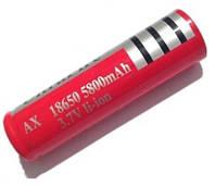 Аккумулятор Bailong 18650 5800 mAh/3.7 V– красный *1194
