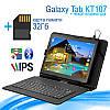 Игровой Планшет Samsung Galaxy Tab KT107 3G 10.1 2/16GB ROM + Чехол - клавиатура + Карта памяти 32GB