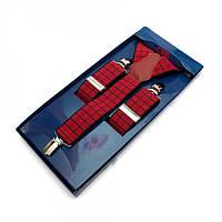 Подтяжки Y Образные Красный Gofin suspenders