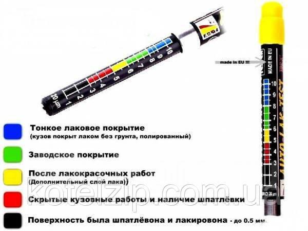 толщиномер краски как пользоваться