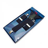 Подтяжки Y Образные Темно-синие Gofin suspenders (Pu-0470)