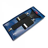 Подтяжки Y Образные Черные Gofin suspenders (Pu-0491)
