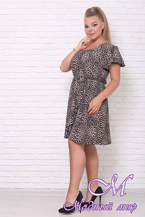 Короткое летнее платье большого размера (р. 42-90) арт. Вероника, фото 2