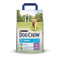Сухой  корм для щенков с ягненком Dog Chow Puppy 14кг