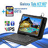 Игровой Планшет Samsung Galaxy Tab KT107 3G 10.1 2/16GB ROM + Чехол - клавиатура + Карта памяти 64GB