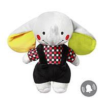 Мягкая игрушка обнимашка для малышей Слон Andy, Польша