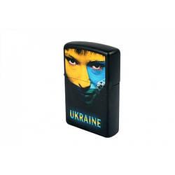Запальничка Zippo 218 US UKRAINE SOCCER FACE original