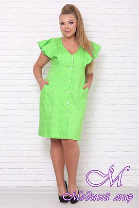 Женское летнее платье больших размеров (р. 42-90) арт. Виталина, фото 2