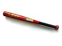Бита бейсбольная алюминиевая 53 см BAT PROFI MS 1428-1 (красный)