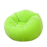 ✅Надувное кресло Intex 68569, 107 х 104 х 69 см, три цвета, фото 4