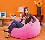 ✅Надувное кресло Intex 68569, 107 х 104 х 69 см, три цвета, фото 5